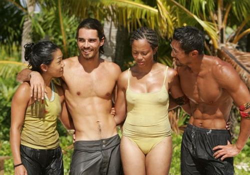 The Aitu 4 in Survivor: Cook Islands