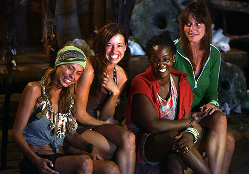 The Black Widow Brigade in Survivor: Micronesia