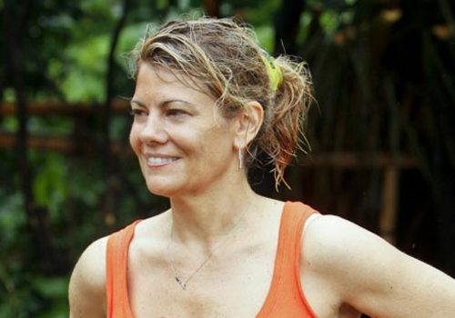 Lisa Whelchel on Survivor: Philippines