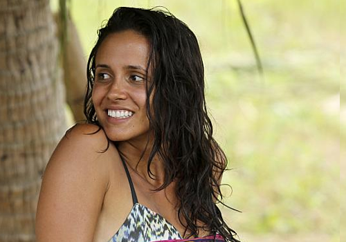 Monica Padilla on Survivor: Cambodia