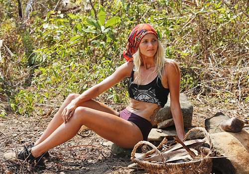 Alecia Holden on Episode 2 of Survivor: Kaôh Rōng.