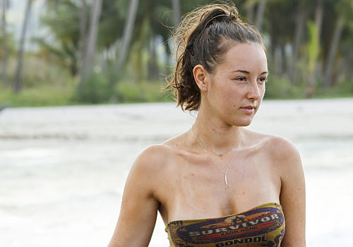 Anna Khait was the fifth boot on Survivor: Kaoh Rong.