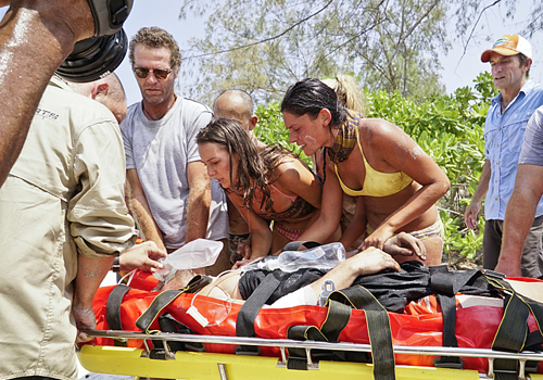 Caleb Reynolds is medically evacuated from Survivor: Kaoh Rong.