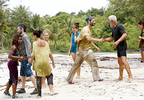 The tribes merge on Episode 7 of Survivor: Kaoh Rong.