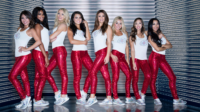 """L.A. Clippers Dance Squad"" premieres on the E! Network at 10pm March 15."