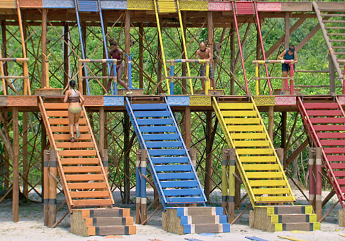 Immunity Challenge in Episode 14 of Survivor: Kaoh Rong.