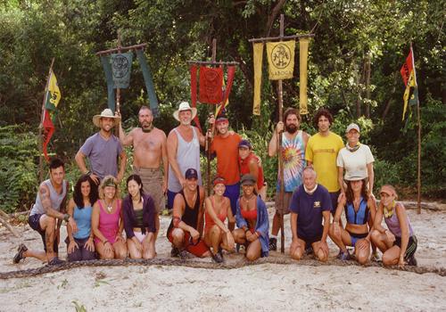 Survivor: All-Stars cast.