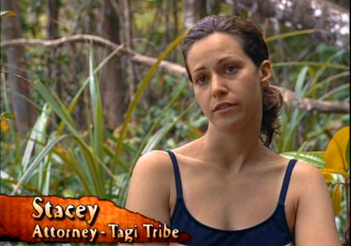 Stacey Stillman, Survivor: Borneo.
