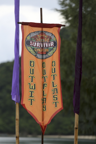 Survivor: Cagayan challenge banner. Source: CBS.