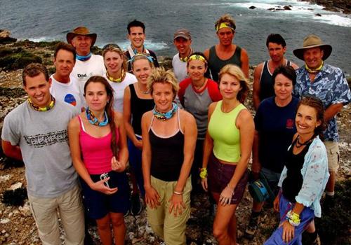 Cast of the original Australian Survivor season.