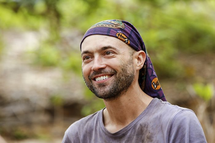 """Who's the Sucker at the Table?"" - David Wright on the fourth episode of SURVIVOR: Millennials vs. Gen. X, airing Wednesday, Oct. 12 (8:00-9:00 PM, ET/PT) on the CBS Television Network. Photo: Monty Brinton/CBS Entertainment ©2016 CBS Broadcasting, Inc. All Rights Reserved."