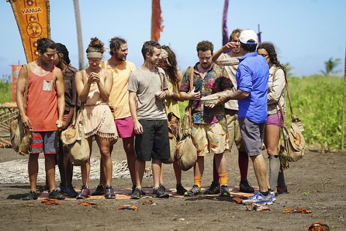"""Idol Search Party"" - Justin Starrett, Michaela Bradshaw, Jessica Figueroa, Taylor Stocker, Adam Klein, Michelle Schubert, Ezekiel/Zeke Smith, Will Wahl, Jeff Probst and Hannah Shapiro on the fifth episode of SURVIVOR: Millennials vs. Gen. X, airing Wednesday, Oct. 19 (8:00-9:00 PM, ET/PT) on the CBS Television Network. Photo: Monty Brinton/CBS Entertainment ©2016 CBS Broadcasting, Inc. All Rights Reserved."