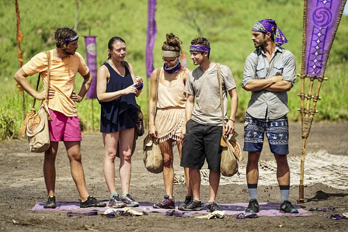 """""""Idol Search Party"""" - Taylor Stocker, Jessica Lewis, Jessica Figueroa, Adam Klein and Ken McNickle on the fifth episode of SURVIVOR: Millennials vs. Gen. X, airing Wednesday, Oct. 19 (8:00-9:00 PM, ET/PT) on the CBS Television Network. Photo: Monty Brinton/CBS Entertainment ©2016 CBS Broadcasting, Inc. All Rights Reserved."""