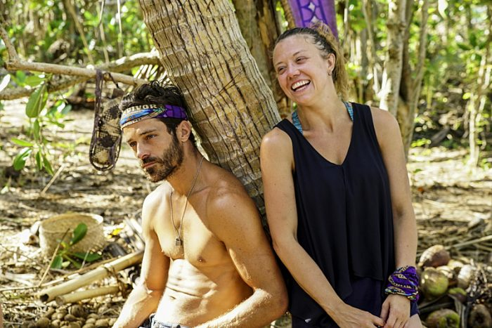 """""""Idol Search Party"""" - Ken McNickle and Jessica Lewis on the fifth episode of SURVIVOR: Millennials vs. Gen. X, airing Wednesday, Oct. 19 (8:00-9:00 PM, ET/PT) on the CBS Television Network. Photo: Monty Brinton/CBS Entertainment ©2016 CBS Broadcasting, Inc. All Rights Reserved."""