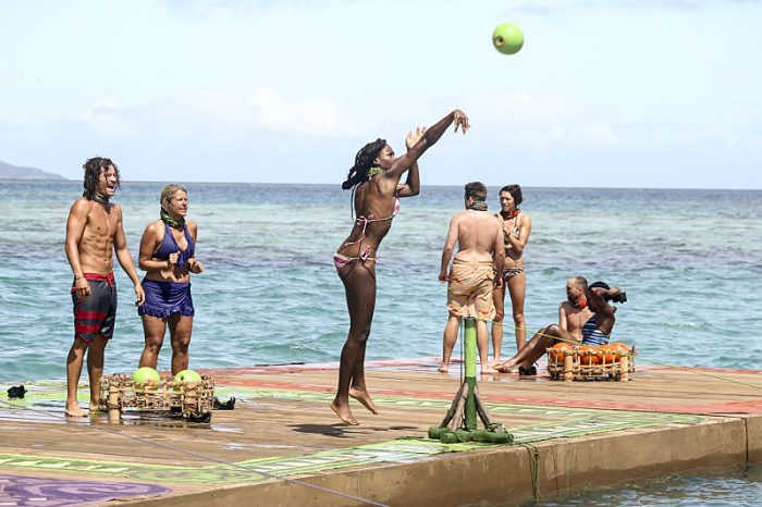 """""""Idol Search Party"""" - Justin Starrett, Sunday Burquest, Michaela Bradshaw, Ezekiel/Zeke Smith, Michelle Schubert, David Wright and Ciandre Taylor on the fifth episode of SURVIVOR: Millennials vs. Gen. X, airing Wednesday, Oct. 19 (8:00-9:00 PM, ET/PT) on the CBS Television Network. Photo: Monty Brinton/CBS Entertainment ©2016 CBS Broadcasting, Inc. All Rights Reserved."""