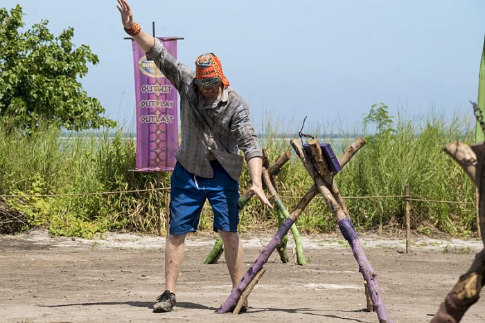 """The Truth Works Well"" - Chris Hammons on the sixth episode of SURVIVOR: Millennials vs. Gen. X, airing Wednesday, Oct. 26 (8:00-9:00 PM, ET/PT) on the CBS Television Network. Photo: Monty Brinton/CBS Entertainment ©2016 CBS Broadcasting, Inc. All Rights Reserved."