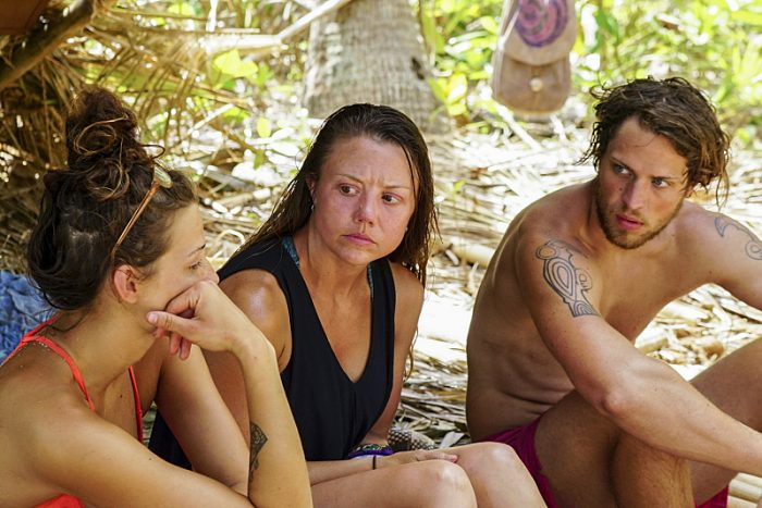"""""""The Truth Works Well"""" - Jessica Figueroa, Jessica Lewis and Taylor Stocker on the sixth episode of SURVIVOR: Millennials vs. Gen. X, airing Wednesday, Oct. 26 (8:00-9:00 PM, ET/PT) on the CBS Television Network. Photo: Monty Brinton/CBS Entertainment ©2016 CBS Broadcasting, Inc. All Rights Reserved."""