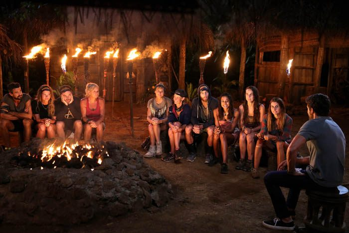 NIGEL WRIGHT PHOTOGRAPHER. +61(0) 409 363 339. MAY/ JULY 2016 COPYRIGHT: ENDEMOLSHINE AUSTRALIA AND NETWORK TEN, AUSTRALIA AUSTRALIAN SURVIVOR S1. 2016 THIS EXCLUSIVE PICTURE SHOWS: EP 18. CHALLENGE, 'UNHOOK THE CHOOK', EXILE BEACH, WINNERS AT CAMP, TRIBAL COUNCIL...KYLIE VOTED OUT