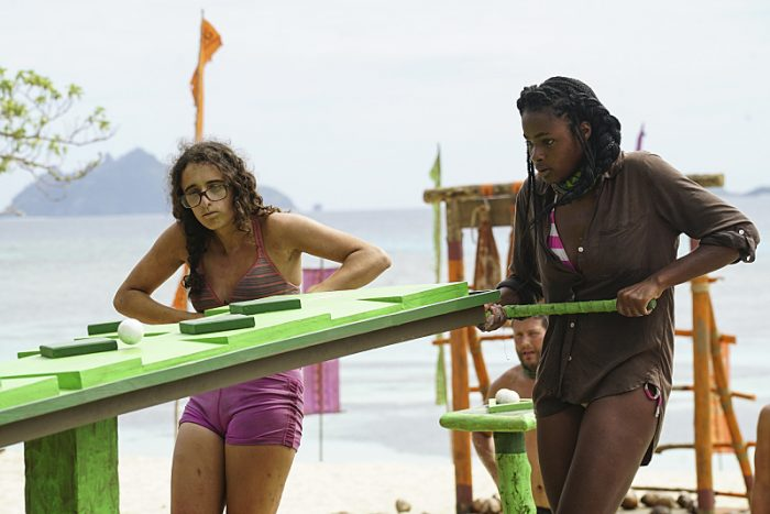 """The Truth Works Well"" - Hannah Shapiro and Michaela Bradshaw on the sixth episode of SURVIVOR: Millennials vs. Gen. X, airing Wednesday, Oct. 26 (8:00-9:00 PM, ET/PT) on the CBS Television Network. Photo: Monty Brinton/CBS Entertainment ©2016 CBS Broadcasting, Inc. All Rights Reserved."