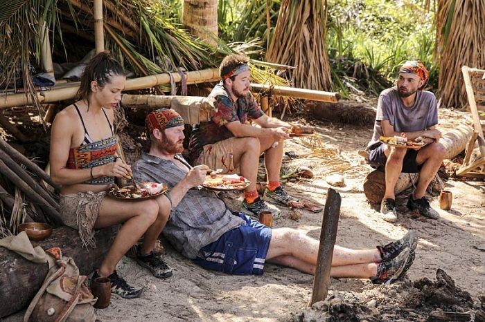 """I Will Destroy You"" - Michelle Schubert, Chris Hammons, Ezekiel/Zeke Smith and David Wright compete on the seventh episode of SURVIVOR: Millennials vs. Gen. X, airing Wednesday, Nov. 2 (8:00-9:00 PM, ET/PT) on the CBS Television Network. Photo: Monty Brinton/CBS Entertainment �©2016 CBS Broadcasting, Inc. All Rights Reserved."