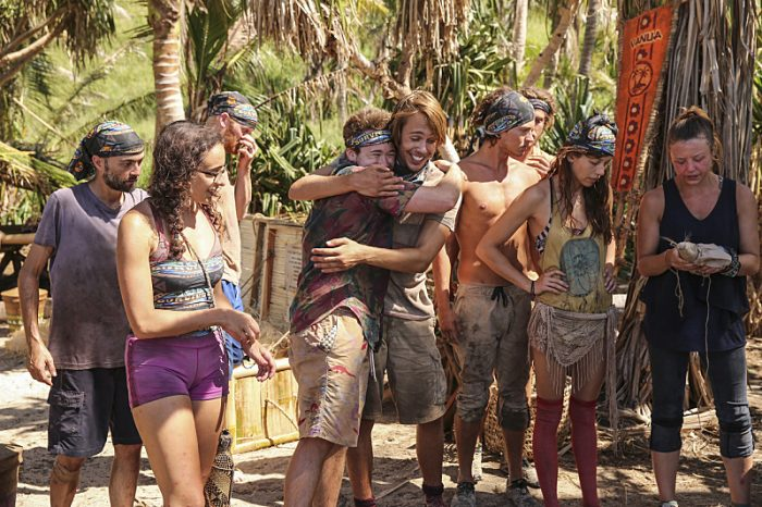 """""""I'm the Kingpin"""" - David Wright, Hannah Shapiro, Ezekiel/Zeke Smith, Will Wahl, Michelle Schubert and Jessica Lewis on the eighth episode of SURVIVOR: Millennials vs. Gen. X, airing Wednesday, Nov. 9 (8:00-9:00 PM, ET/PT) on the CBS Television Network. Photo: Monty Brinton/CBS Entertainment ©2016 CBS Broadcasting, Inc. All Rights Reserved."""