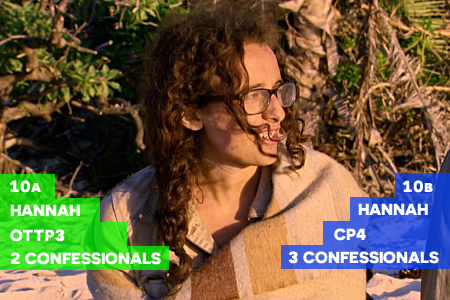 Survivor: Millennials vs. Gen X Episode 10 Hannah