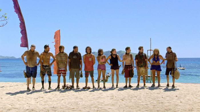 """Million Dollar Gamble"" - Chris Hammons, Ken McNickle, Will Wahl, Bret LaBelle, Justin Starrett, Hannah Shapiro, Jessica Lewis, Adam Klein, Ezekiel/Zeke Smith, Sunday Burquest and David Wright on SURVIVOR: Millennials vs. Gen. X, on a two-hour SURVIVOR, Wednesday, Nov. 23 (8:00-10:00 PM, ET/PT) on the CBS Television Network.. Photo: Screen Grab/CBS Entertainment ©2016 CBS Broadcasting, Inc. All Rights Reserved."