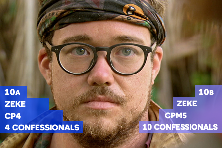 Survivor: Millennials vs. Gen X Episode 10 Zeke