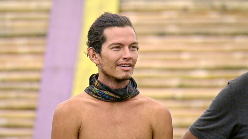 """I'm Going For a Million Bucks"" - Justin Starrett on the Final episode of SURVIVOR: Millennials vs. Gen. X. Steady hands will earn a spot in the final three and a chance at the million dollar prize. Then, after 39 days, one castaway will be crowned Sole Survivor, on the two-hour season finale, followed by the one-hour live reunion show hosted by Emmy Award winner Jeff Probst, on SURVIVOR, Wednesday, Dec. 14 (8:00-11:00 PM, ET/PT) on the CBS Television Network. Photo: Screen Grab/CBS Entertainment ©2016 CBS Broadcasting, Inc. All Rights Reserved."