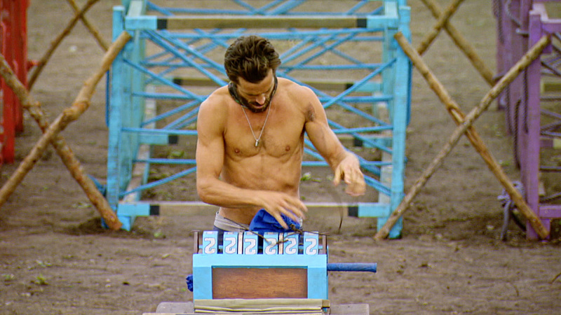 """I'm Going For a Million Bucks"" - Ken McNickle on the Final episode of SURVIVOR: Millennials vs. Gen. X. Steady hands will earn a spot in the final three and a chance at the million dollar prize. Then, after 39 days, one castaway will be crowned Sole Survivor, on the two-hour season finale, followed by the one-hour live reunion show hosted by Emmy Award winner Jeff Probst, on SURVIVOR, Wednesday, Dec. 14 (8:00-11:00 PM, ET/PT) on the CBS Television Network. Photo: Screen Grab/CBS Entertainment ©2016 CBS Broadcasting, Inc. All Rights Reserved."