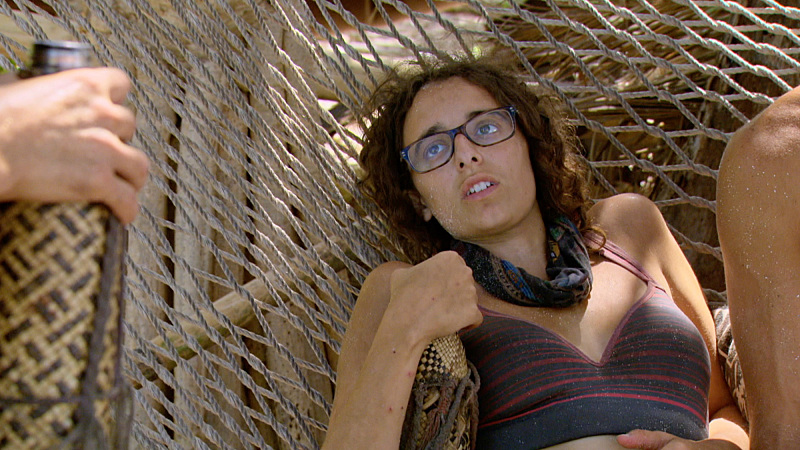 """I'm Going For a Million Bucks"" - Hannah Shapiro on the Final episode of SURVIVOR: Millennials vs. Gen. X. Steady hands will earn a spot in the final three and a chance at the million dollar prize. Then, after 39 days, one castaway will be crowned Sole Survivor, on the two-hour season finale, followed by the one-hour live reunion show hosted by Emmy Award winner Jeff Probst, on SURVIVOR, Wednesday, Dec. 14 (8:00-11:00 PM, ET/PT) on the CBS Television Network. Photo: Screen Grab/CBS Entertainment ©2016 CBS Broadcasting, Inc. All Rights Reserved."