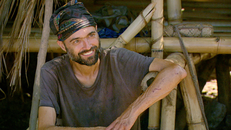 """I'm Going For a Million Bucks"" - David Wright on the Final episode of SURVIVOR: Millennials vs. Gen. X. Steady hands will earn a spot in the final three and a chance at the million dollar prize. Then, after 39 days, one castaway will be crowned Sole Survivor, on the two-hour season finale, followed by the one-hour live reunion show hosted by Emmy Award winner Jeff Probst, on SURVIVOR, Wednesday, Dec. 14 (8:00-11:00 PM, ET/PT) on the CBS Television Network. Photo: Screen Grab/CBS Entertainment ©2016 CBS Broadcasting, Inc. All Rights Reserved."