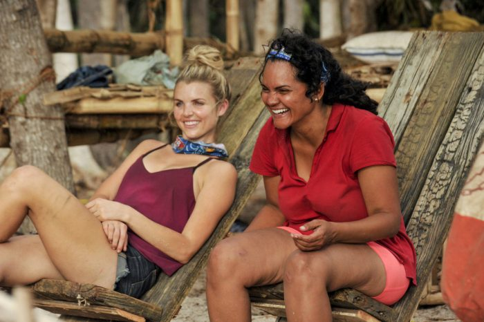 """Vote Early, Vote Often"" - Andrea Boehlke and Sandra Diaz-Twine on the sixth episode of SURVIVOR: Game Changers, airing Wednesday, April 5 (8:00-9:00 PM, ET/PT) on the CBS Television Network. Photo: Jeffrey Neira/CBS Entertainment ©2017 CBS Broadcasting, Inc. All Rights Reserved."