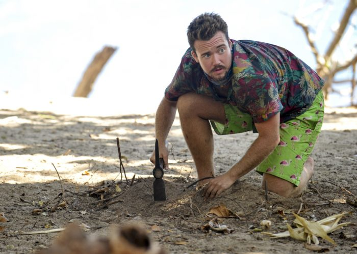 """""""What Happened on Exile, Stays on Exile"""" - Zeke Smith on the seventh episode of SURVIVOR: Game Changers, airing Wednesday, April 12 (8:00-9:00 PM, ET/PT) on the CBS Television Network. Photo: Jeffrey Neira/CBS Entertainment ©2017 CBS Broadcasting, Inc. All Rights Reserved."""