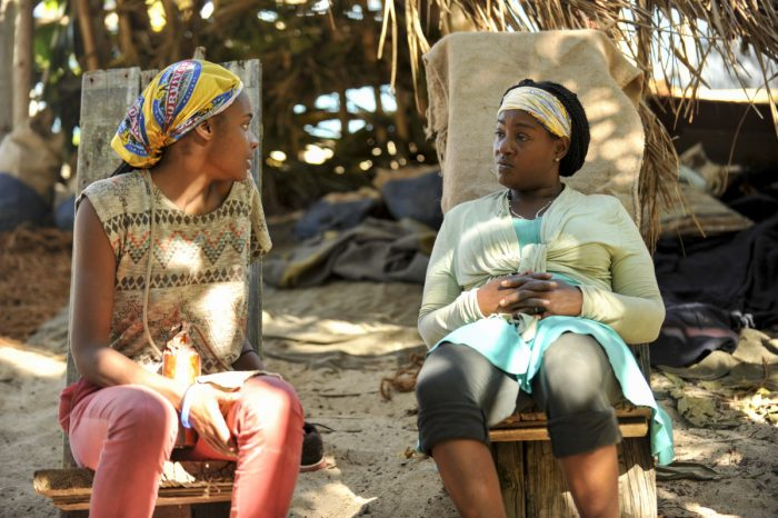 """""""There's A New Sheriff in Town"""" - Michaela Bradshaw and Cirie Fields on the eighth and ninth episode of SURVIVOR: Game Changers, airing Wednesday, April 19 (8:00-10:00 PM, ET/PT) on the CBS Television Network. Photo: Jeffrey Neira/CBS Entertainment ©2017 CBS Broadcasting, Inc. All Rights Reserved."""