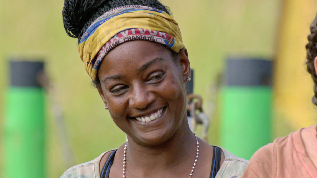 """""""Reinventing How This Game Is Played"""" - Cirie Fields on the eleventh episode of SURVIVOR: Game Changers, airing Wednesday, May 3 (8:00-9:00 PM, ET/PT) on the CBS Television Network. Photo: Screen Grab/CBS Entertainment ©2017 CBS Broadcasting, Inc. All Rights Reserved."""