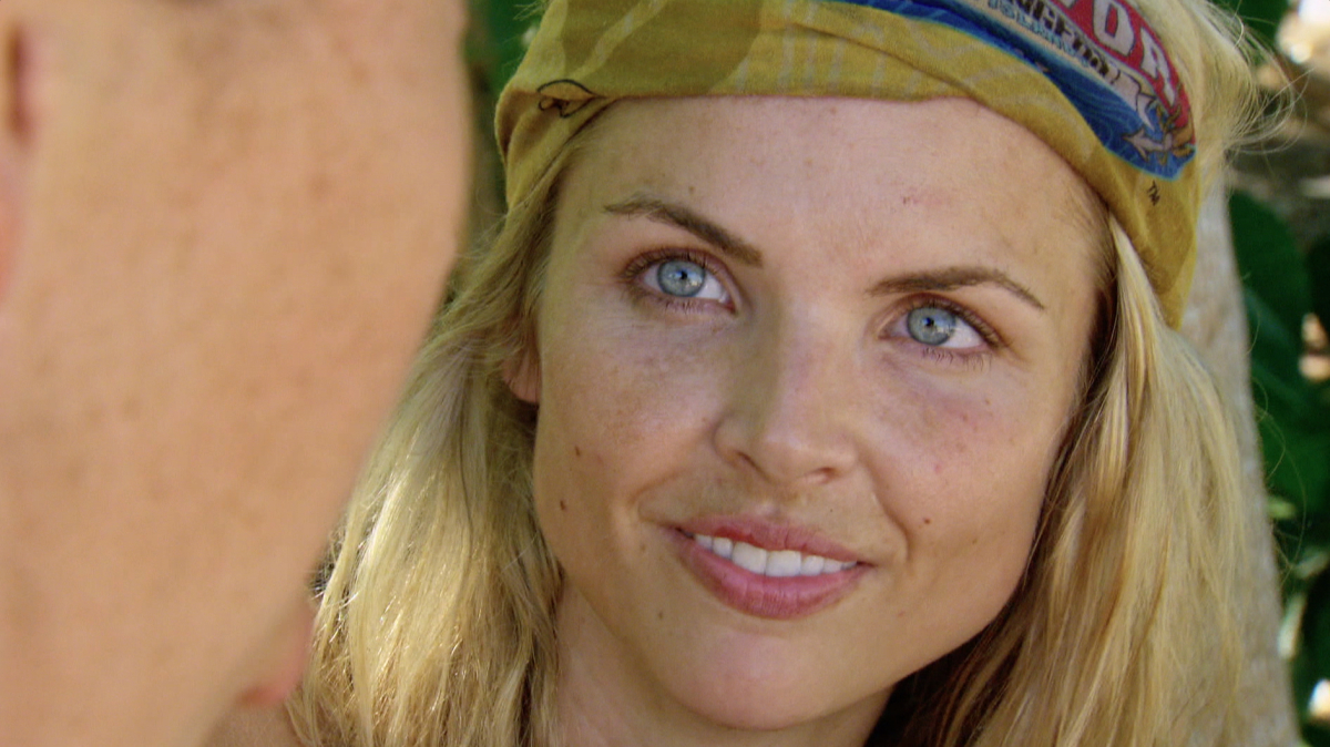 """""""Reinventing How This Game Is Played"""" - Andrea Boehlke on the eleventh episode of SURVIVOR: Game Changers, airing Wednesday, May 3 (8:00-9:00 PM, ET/PT) on the CBS Television Network. Photo: Screen Grab/CBS Entertainment ©2017 CBS Broadcasting, Inc. All Rights Reserved."""