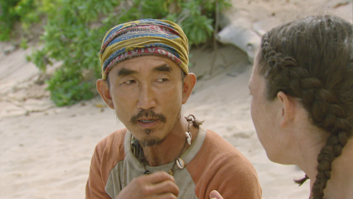 """No Good Deed Goes Unpunished"" - Tai Trang on the season finale of SURVIVOR: Game Changers, airing Wednesday, May 24 (8:00-10:00 PM, ET/PT) on the CBS Television Network. Photo: Screen Grab/CBS Entertainment ©2017 CBS Broadcasting, Inc. All Rights Reserved."