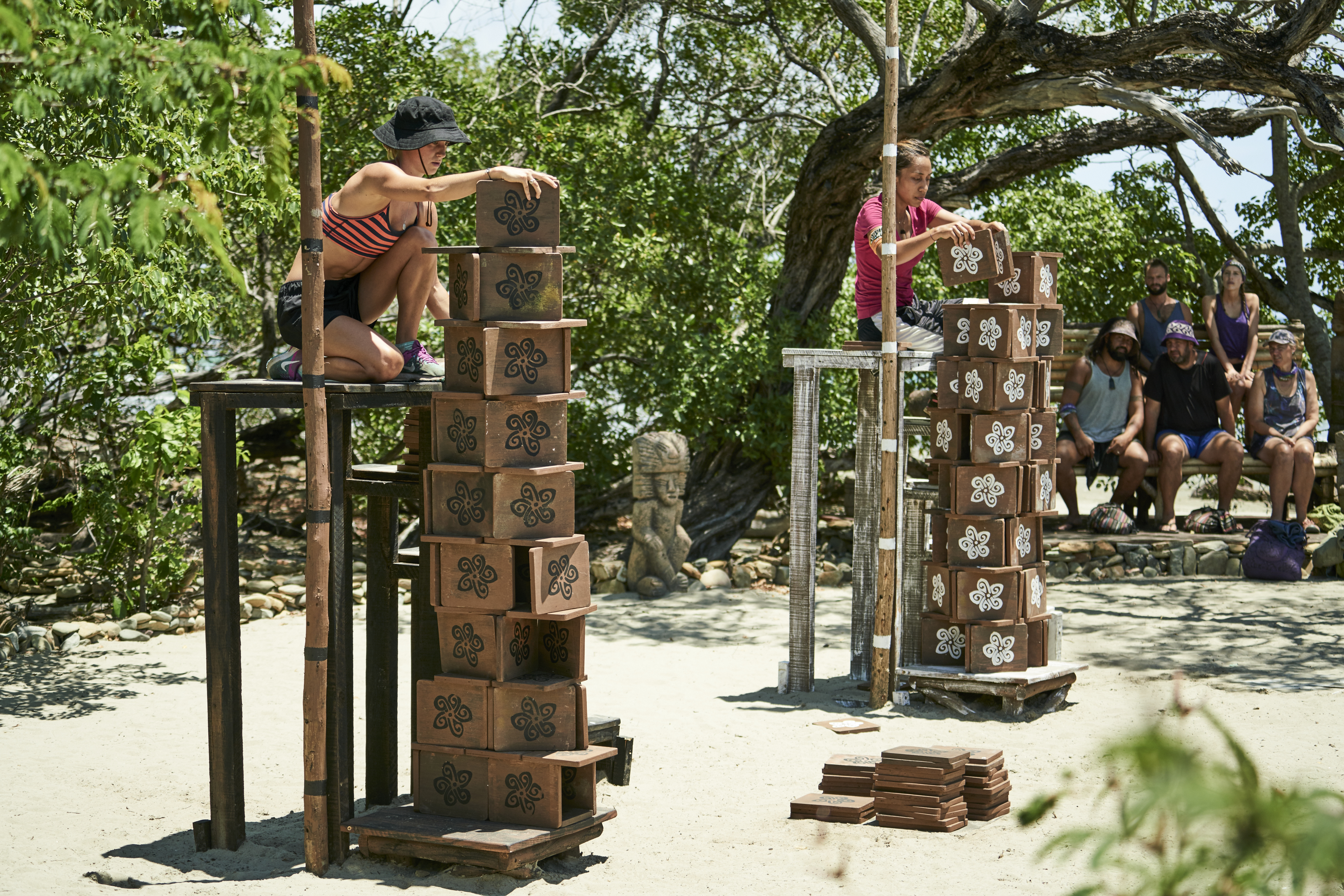 Shay and Georgia in challenge (photocredit Scott McAulay) (2)