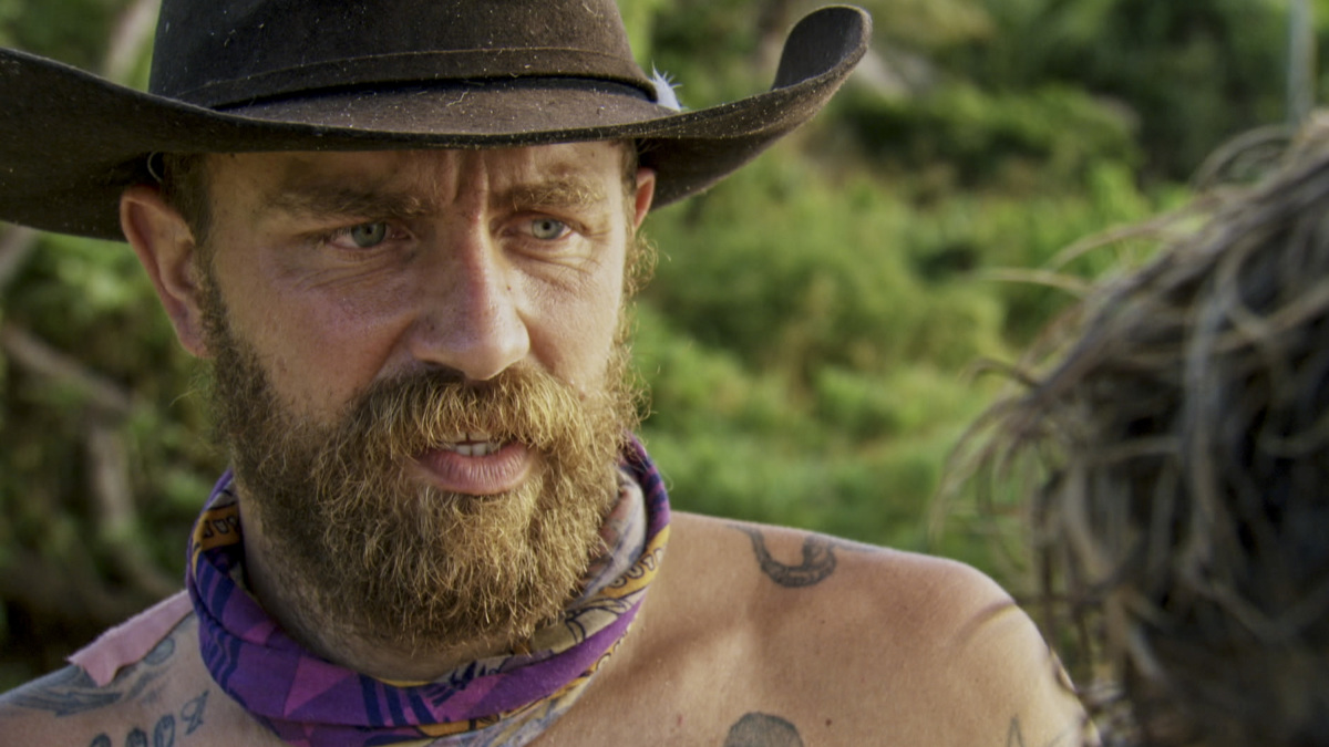 """""""Fear of the Unknown"""" - Ben Driebergen on the ninth episode of SURVIVOR 35, themed Heroes vs. Healers vs. Hustlers, airing Wednesday, November 22 (8:00-9:00 PM, ET/PT) on the CBS Television Network. Photo: Screen Grab/CBS ©2017 CBS Broadcasting Inc. All Rights Reserved"""