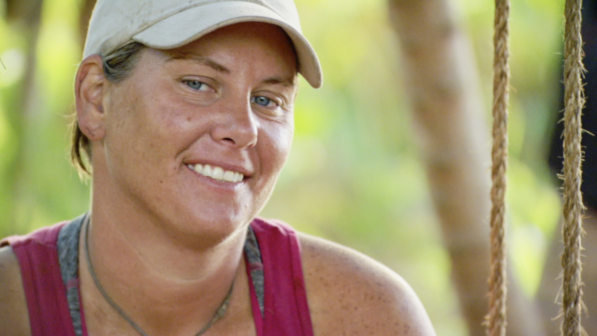 """""""Not Going To Roll Over And Die"""" - Lauren Rimmer on the twelfth episode of SURVIVOR 35, themed Heroes vs. Healers vs. Hustlers, airing Wednesday, December 6 (8:00-9:00 PM, ET/PT) on the CBS Television Network. Photo: Screen Grab/CBS ©2017 CBS Broadcasting Inc. All Rights Reserved"""