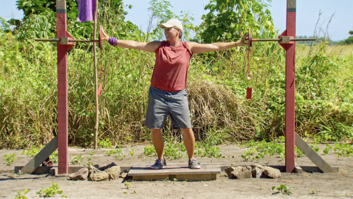 """Not Going To Roll Over And Die"" - Lauren Rimmer on the twelfth episode of SURVIVOR 35, themed Heroes vs. Healers vs. Hustlers, airing Wednesday, December 6 (8:00-9:00 PM, ET/PT) on the CBS Television Network. Photo: Screen Grab/CBS ©2017 CBS Broadcasting Inc. All Rights Reserved"
