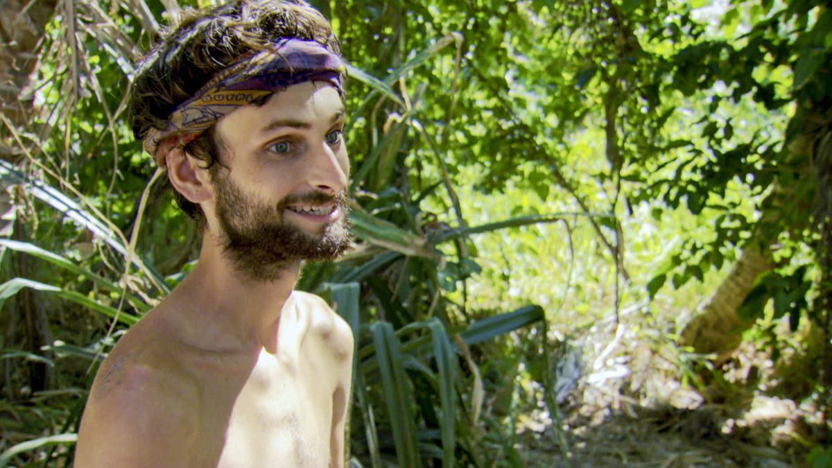 """""""Million Dollar Night"""" - Ryan Ulrich on the finale of SURVIVOR 35, themed Heroes vs. Healers vs. Hustlers, airing Wednesday, December 20 (8:00-10:00 PM, ET/PT) on the CBS Television Network. Photo: Screen Grab/CBS ©2017 CBS Broadcasting Inc. All Rights Reserved."""