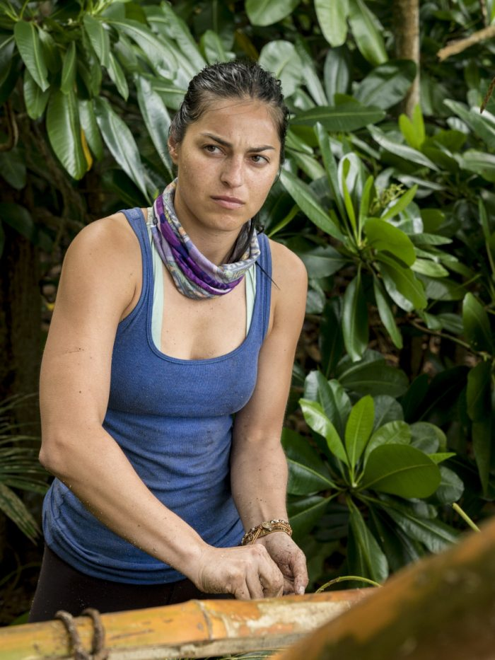 """Appearances Are Deceiving"" - Natalia Azoqa competes on SURVIVOR when the Emmy Award-winning series returns for its 37th season, themed David vs. Goliath, with a special 90-minute premiere, Wednesday, Sept. 26 (8:00-9:30 PM, ET/PT) on the CBS Television Network. Photo: David M. Russell/CBS Entertainment ©2018 CBS Broadcasting, Inc. All Rights Reserved."