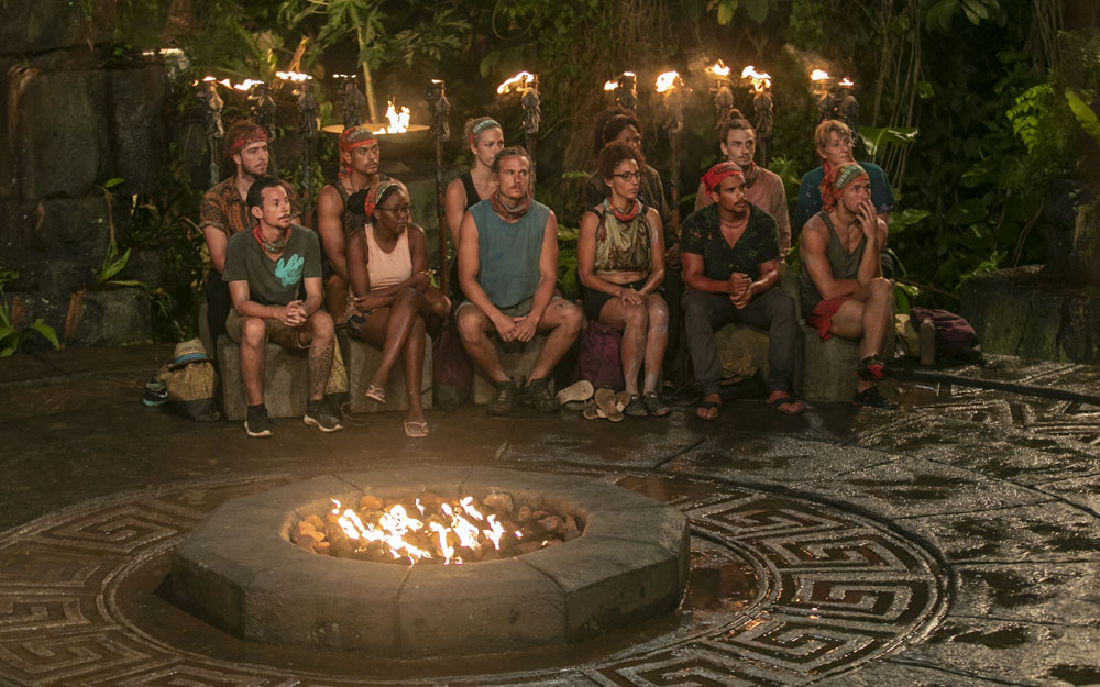 Manumalo at their first Tribal Council